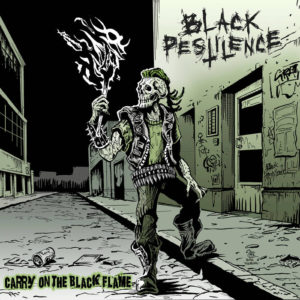 Black Pestilence - Carry on the Black Flame cover art