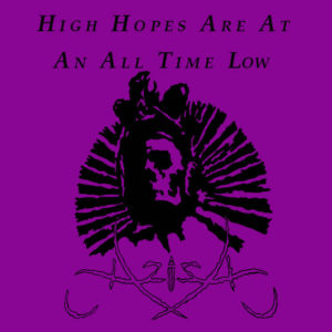 Aziza - High Hopes ar at an All Time Low cover art