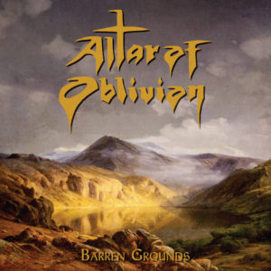 Altar of Oblivion - Barren Grounds cover art