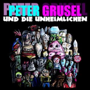 Peter Grusel und Die Heimlichen cover art