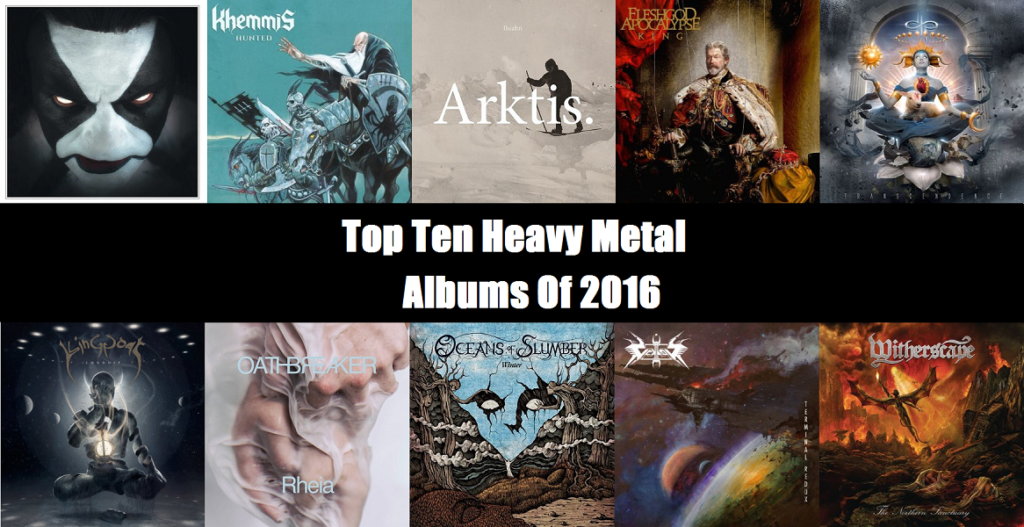 Metal Album 2016 : top ten heavy metal albums of 2016 another metal review blog ~ Vivirlamusica.com Haus und Dekorationen