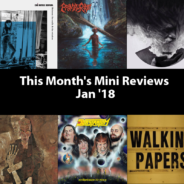 This Month's Mini Reviews – Jan '18